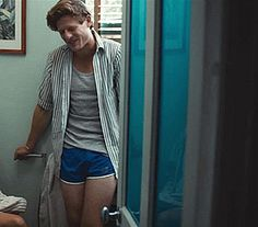 James Norton as Ralph in Bonobo. Ralph is quite obnoxious, but man is he sexy (and wow, Mr Norton is quite flexible, isn't he?).