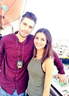 Victoria Justice and Tommy the police from EYE candy