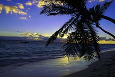 Bavaro Beach, Punta Cana, Dominion Republic at Sunrise