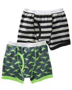 Baby Boy 2-Pack Cotton Briefs from OshKosh B'gosh. Shop clothing &…