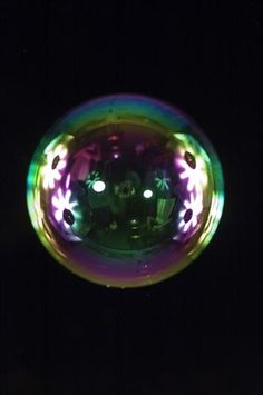 Original art for sale at UGallery.com | Bubbles 4 by Mark Elverson | photography | 40' h x 30' w
