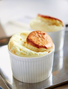 Famed for their trickiness, classic soufflés can be a daunting dish to attempt. Use our classic cheese soufflé recipe and serve as a dinner party starter. Dinner Party Starters, Vegetarian Starters, Baked Butternut Squash, Cheese Souffle, Souffle Recipes, Good Food, Yummy Food, Party Dishes, Delicious Magazine