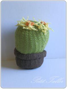 Cactus de tela 2 por PetitTaller en Etsy, €20.00