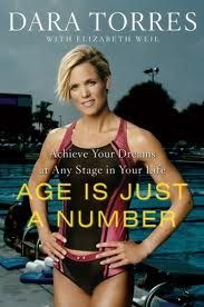 Inspiration= Dara Torres for swimming. Age can be an excuse or just a number you pick.