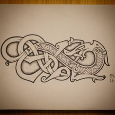 Freehand blackwork embroidery patterns, all appropriate for and early century style freehand blackwork embroidery, especially English style. Simbols Tattoo, Rune Tattoo, Norse Tattoo, Celtic Tattoos, Viking Tattoos, Viking Dragon Tattoo, Irish Tattoos, Chest Tattoo, Viking Embroidery