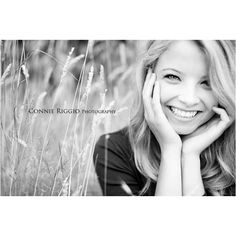 Cute little cheesy smile photo! Nobody could miss this in their senior photo album!