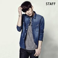 VIXX - Hyuk - STAFF lookbook & Jakapo