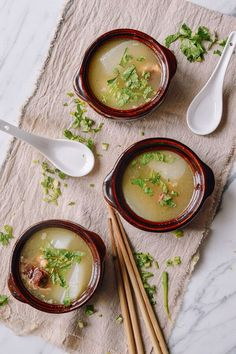 Simple Oxtail Soup, by thewoksoflife.com @thewoksoflife
