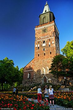 One of my home towns, Turku, Finland. The Cathedral is from the 13th century. Photo: Niklas Sjöblom