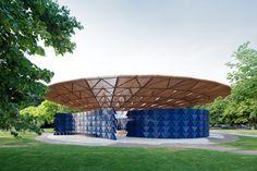 Francis Kéré, Serpentine Pavilion 2017, Londra
