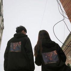 Cute couple, south korea, and ulzzang image Korean Girl Ulzzang, Couple Ulzzang, Mode Ulzzang, Ulzzang Korea, Korean Aesthetic, Couple Aesthetic, Artist Aesthetic, Aesthetic Grunge, Cute Relationship Goals