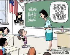 What teachers have to deal with these days! Twitter humor.