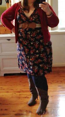 Sisters' Closet boots plus size #aussiecurves australian outfit