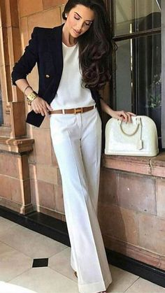 99 Latest Office & Work Outfits Ideas for Women – Office Fashion Office Outfits Women, Office Fashion Women, Womens Fashion For Work, Mode Outfits, Work Fashion, Fashion Outfits, Woman Outfits, Women Office Wear, Club Fashion