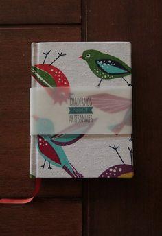 Cuaderno pocket #birds Tamaño a6 11cm x 15cm