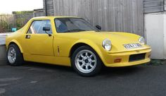 GTM Coupe built 1995 A series 1340 with 286 cam & DCOE. Plumbed in fire extinguisher, battery cutoff, racing . Police Cars, Race Cars, Classic Mini, Classic Cars, Car Crash, Car Engine, Kit Cars, Small Cars, Vintage Cars