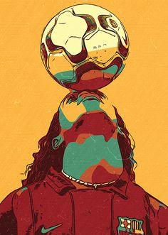 Ronaldinho Art   Fine Art America