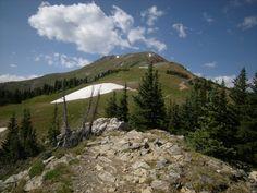 On the ridge of Byers Peak near Fraser
