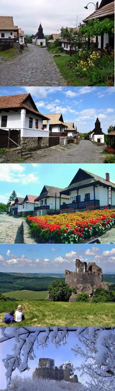 A historical European village
