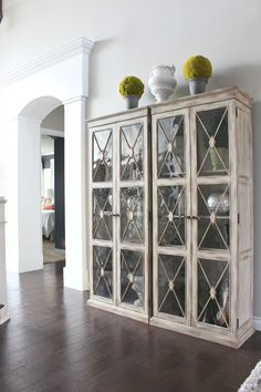 1000 ideas about dining room buffet on pinterest dining for Dining room glass cabinet