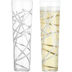 Crackle Stemless Champagne flute from CB2  $4 each