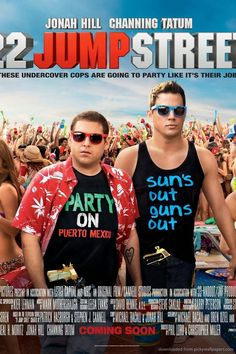 Download 22 Jump Street Party On Poster Wallpaper For iPhone 4