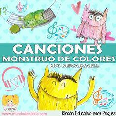 Preschool Curriculum, Preschool Classroom, Preschool Art, Poetry For Kids, Yoga For Kids, Monster Activities, Preschool Activities, Social Emotional Activities, Kindergarten Colors