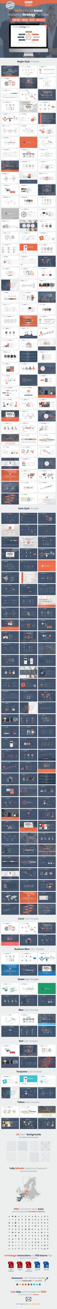 Marketing Strategy Presentation for Keynote Template #design #slides Download: http://graphicriver.net/item/marketing-strategy-presentation-for-keynote/12739940?ref=ksioks