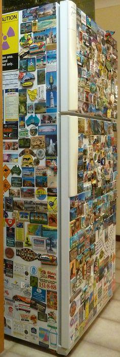 Fridge magnet collection