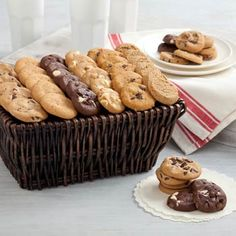 Mrs. Fields® Executive Mini Cookie Gift Basket.  See more at www.pro-gift-baskets.com!