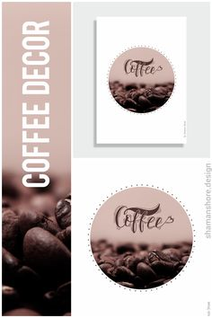 Kitchen Décor Coffee Poster Printable Art, Décor Coffee Printable, Coffee Beans Print, Coffee Bean Decor, Coffee Print Art, Gift for Coffee Lover, Take a Break Office Coffee Poster, Kitchen Print Art