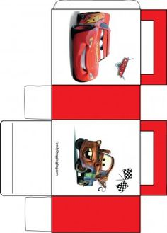cars favor box + links to hats, bookmarks etc