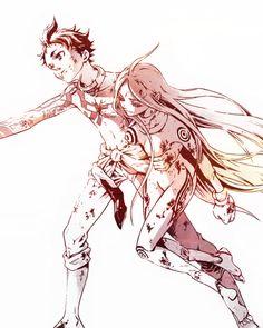 Deadman Wonderland: Ganta y Shiro... by kawaiidolls on DeviantArt