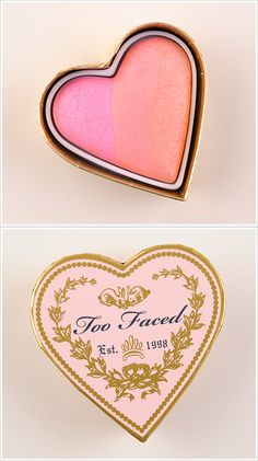 Love, love, love this candy glow Too Faced blush. This product gives just the right amount of glitter and color for the apples of your cheeks.