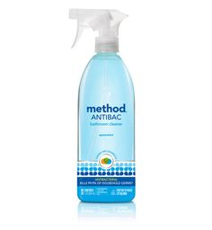 Method Antibacterial Bathroom Cleaner - Spearmint - Found this on clearance at Krogers and its smells soo good for a bathroom cleaner, not to mention it cleans really well. Hopefully I can continue to find it around here because its awesome!