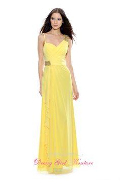 Decode 1.8 181917 luminous yellow #stretchmeshdress #bridesmaiddresses