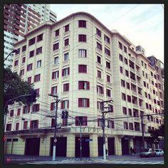 Dias atuais - Edifício Campos Elíseos, localizado na Alameda Barão de Limeira.