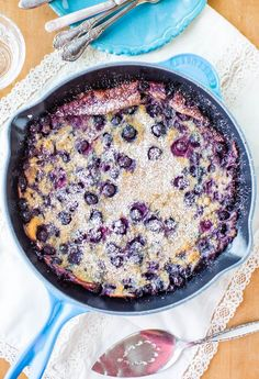 Baking one big pancake in a skillet rather than standing at the stove flipping them one by one is like hitting the pancake jackpot. Enter the Dutch Baby. What's a Dutch baby you ask? A playful name for an oven-baked pancake that has the chewiness of crepes with the thickness of clafoutis. It doesn't have …