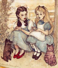 Alicia y Dorothi