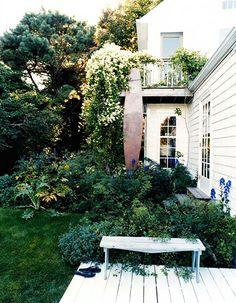 porch, garden