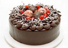 Cherry Ripe mudcake