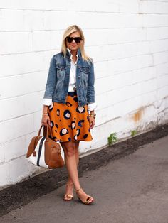 Suburban Faux-Pas: Casual Cool Still not crazy about orange w/blue, but really like the idea w/ a different colorway.