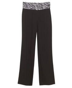 Plus Size White Zebra Yoga Pant -- Size,$36.00