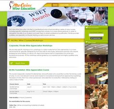 McCaine Wine Education - Servicing - In Concept - Web Design and Web Hosting Company in Hong Kong Microsoft Software, Concept Web, Wine Education, Hosting Company, Hong Kong, Web Design, How To Apply, Internet, Check