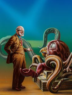 barclay shaw - the remaking of sigmund freud, paperback cover, 1984