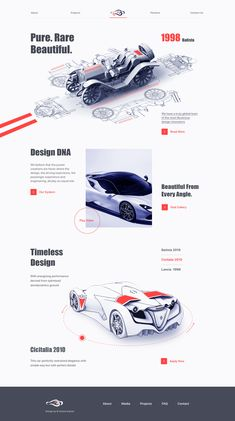 Automotive Design by Zuairia Zaman Cool Web Design, Web Ui Design, Web Design Company, Graphic Design, Web Layout, Layout Design, Site Inspiration, Webdesign Layouts, Template Web