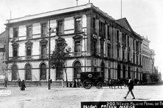 Los juzgados de la Cárcel de Belén cerca de 1910, hoy aquí está el Centro Escolar Revolución Cd Méx en el Tiempo (@cdmexeneltiempo) | Twitter