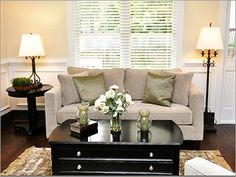 Small Living Room Ideas I love this coffee table