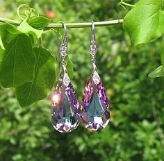 Hey, I found this really awesome Etsy listing at https://www.etsy.com/listing/156280341/genuine-swarovski-drop-crystal-earrings