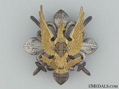 A Rare King Michael I Period Military Scout Badge Scout Badges, Military Insignia, Period, Army, Brooch, Decorations, King, Home, Gi Joe